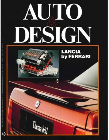 1986 AUTO & DESIGN MAGAZINE ITALIENISCH & ENGLISCH 40
