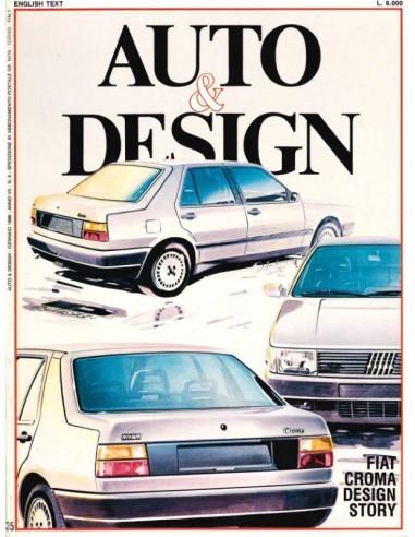 1986 AUTO & DESIGN MAGAZINE ITALIAN & ENGLISH 35