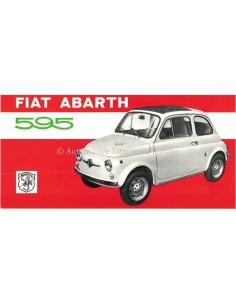 1971 ABARTH 595 LEAFLET ITALIAANS