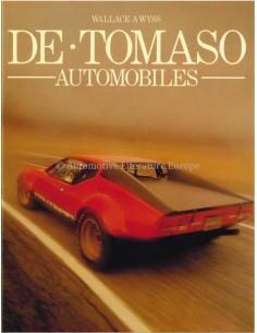 DE TOMASO AUTOMOBILES - WALLACE A WYSS - BOOK