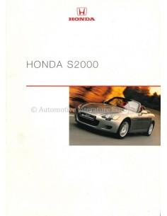 2000 HONDA S2000 BROCHURE DUTCH