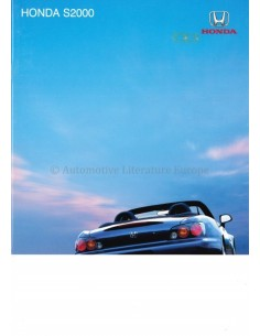 2004 HONDA S2000 BROCHURE ENGLISH