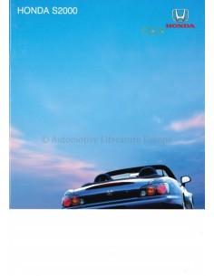2004 HONDA S2000 PROSPEKT ENGLISCH