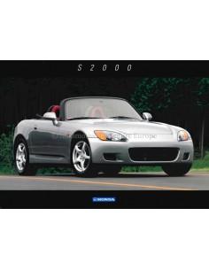 1999 HONDA S2000 DATENBLATT ENGLISCH
