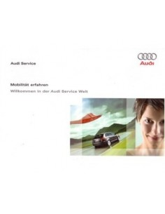 2008 AUDI INSTRUCTIEBOEKJE MOBILITAT ERFAHREN DEUTSCH