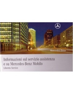 2008 MERCEDES BENZ SERVICE INSTRUCTIEBOEKJE ITALIAANS