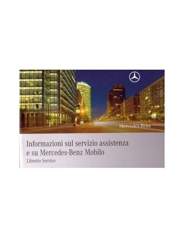 2008 MERCEDES BENZ SERVICE INSTRUCTIEBOEKJE ITALIAANS
