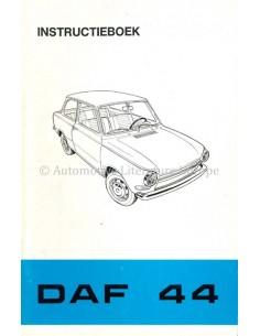 1971 DAF 44 OWNERS MANUAL DUTCH