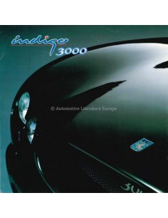 2000 JOSSE CAR INDIGO 3000 BROCHURE ENGELS