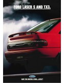 1993 FORD LASER S & TX3 BROCHURE ENGLISH