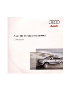 2007 AUDI Q7 CD INFOTAINMENT MMI