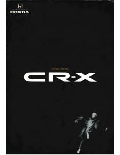 1988 HONDA CR-X PROSPEKT JAPANISCH