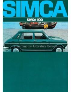 1968 SIMCA 1100 BROCHURE NEDERLANDS