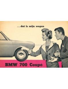 1959 BMW 700 COUPÉ PROSPEKT NIEDERLÄNDISCH