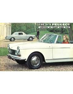 1970 PEUGEOT 404 BROCHURE DUTCH
