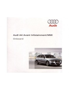 2008 AUDI Q5 CD INFOTAINMENT MMI