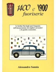 FIAT 1400 E 1900 FUORISERIE - ALESSANDRO SANNIA - BOEK