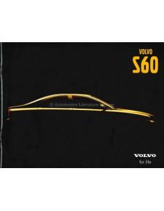 2001 VOLVO S60 PROSPEKT ENGLISCH (USA)