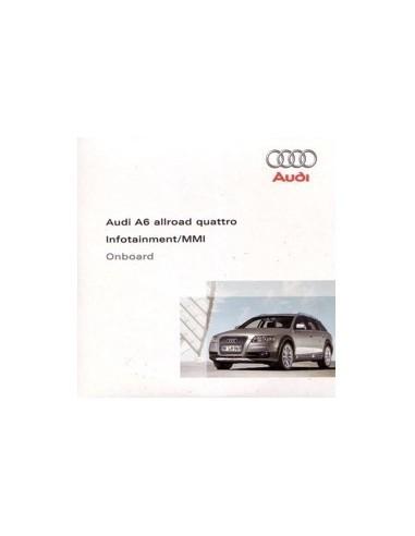 2007 AUDI A6 ALLROAD QUATTRO CD INFOTAINMENT MMI