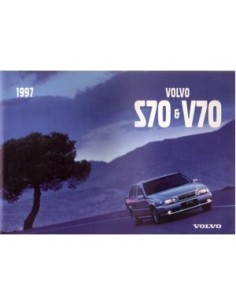 1997 VOLVO S70 / V70 OWNER'S MANUAL ITALIAN