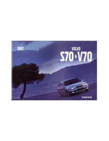 1997 VOLVO V70 / S70 INSTRUCTIEBOEKJE ITALIAANS