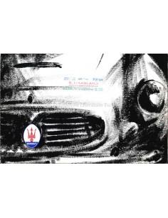 1961 MASERATI 3500 GT 2+2 TOURING BROCHURE