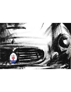 1961 MASERATI 3500 GT / GTI 2+2 TOURING BROCHURE