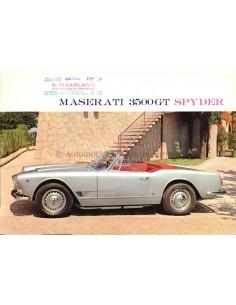 1959 MASERATI 3500 GT 2+2 TOURING PROSPEKT
