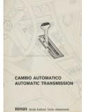 1978 FERRARI AUTOMATISCHE TRANSMISSIE REPARATIE HANDLEIDING