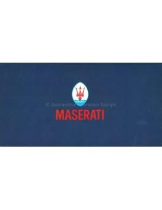 1976 MASERATI PROGRAM PROSPEKT