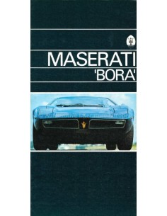 1974 MASERATI BORA PROSPEKT ENGLISCH