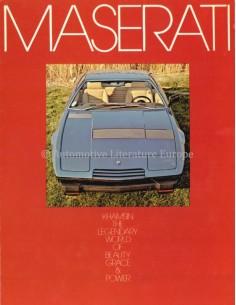 1974 MASERATI KHAMSIN PROSPEKT ENGLISCH (VS)