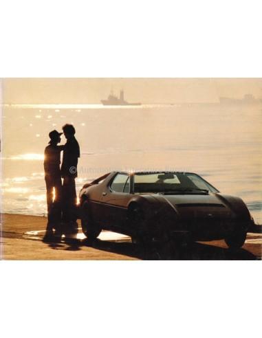 1978 MASERATI MERAK SS BROCHURE