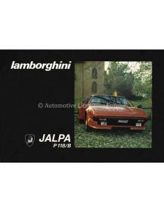 1981 LAMBORGHINI JALPA P118/B BETRIEBSANLEITUNG