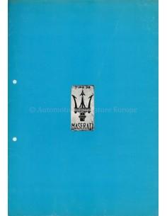 1978 MASERATI PORTFOLIO PROSPEKT