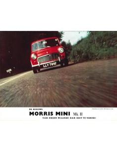 1969 MORRIS MINI MK II BROCHURE DUTCH