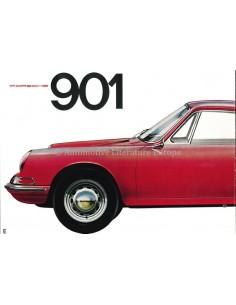 1963 PORSCHE 901 PROSPEKT ENGLISCH