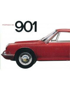 1964 PORSCHE 901 PROSPEKT ENGLISCH