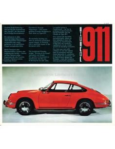 1965 PORSCHE 911 PROSPEKT