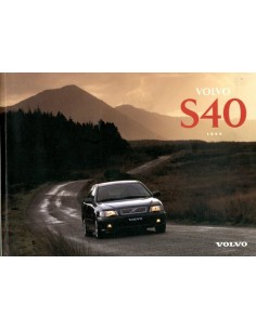 1996 VOLVO S40 OWNERS MANUAL HANDBOOK DUTCH