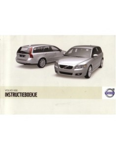 2009 VOLVO V50 OWNERS MANUAL HANDBOOK DUTCH