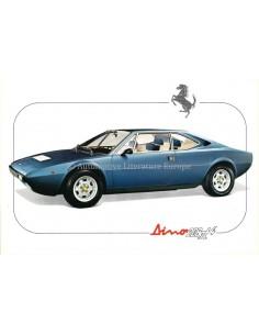 1977 FERRARI DINO 208 GT4 LEAFLET