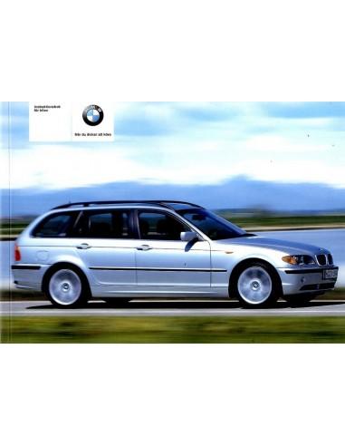 2004 BMW 3 SERIE TOURING INSTRUCTIEBOEKJE ZWEEDS