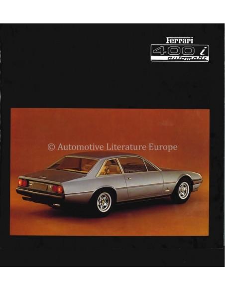 1979 FERRARI 400I AUTOMATIC BROCHURE 175/79