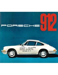 1965 PORSCHE 912 PROSPEKT ENGLISCH (USA)
