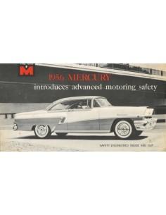 1956 MERCURY PROGRAMM PROSPEKT ENGLISCH