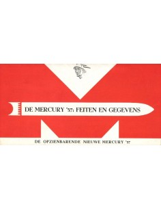 1957 MERCURY PROGRAMM PROSPEKT NIEDERLÄNDISCH