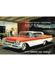 1957 MERCURY PROGRAMMA BROCHURE ENGELS