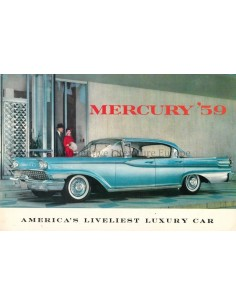 1959 MERCURY RANGE BROCHURE ENGLISH