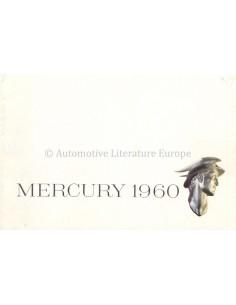 1960 MERCURY PROGRAMMA BROCHURE ENGELS